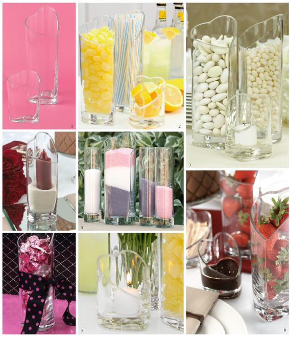 Glass Vase Decorating Ideas