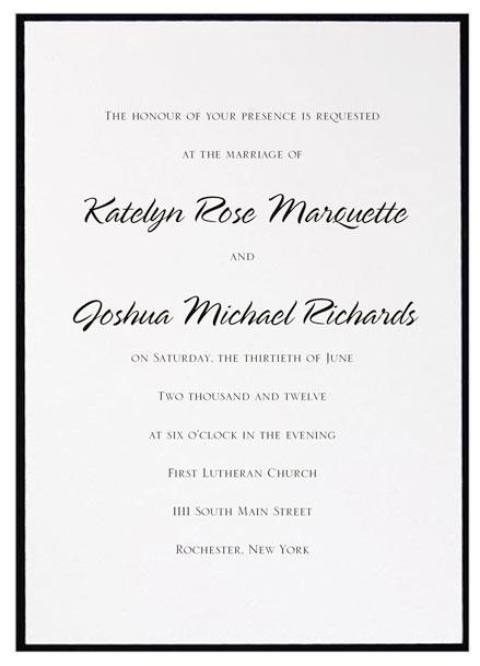 kim kardashian wedding invitation font