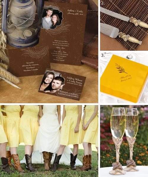 Want more ideas Check out our Western wedding inspiration board and see