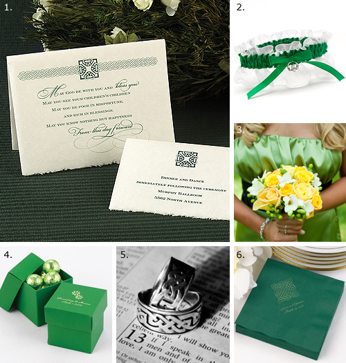 Celtic Wedding Theme 1 Guests will know a wedding with Celtic flair is in