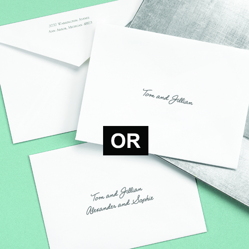 inner envelope wedding invitation etiquette – bernit bridal, Wedding invitations