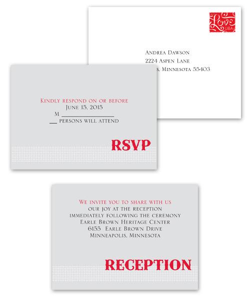 Wedding Invitation Enclosure Cards